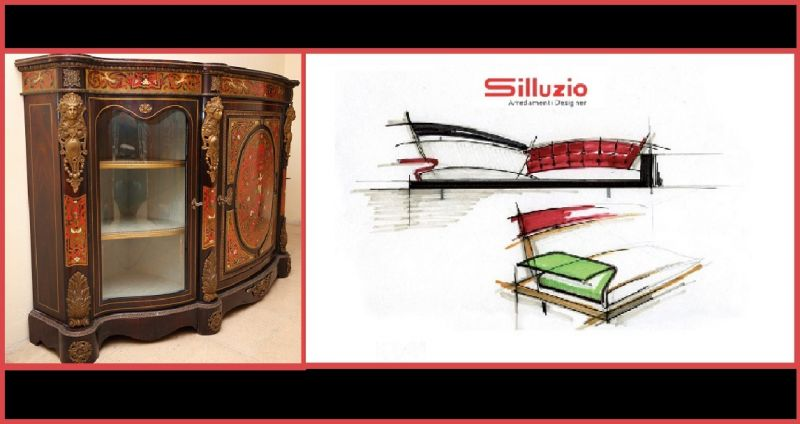 SILLUZIO ARREDAMENTI Offer of prestigious sale production made in italy-Sale of sale made Italy
