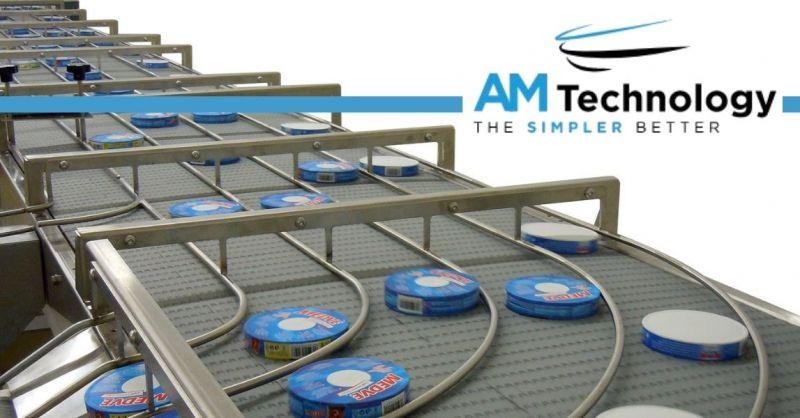 AM TECHNOLOGY SRL - Realizzazione nastri trasportatori con tappeti modulari settore alimentare