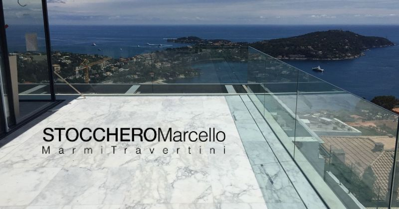 Stocchero Marcello BARGAINS the production and sale of Botticino Marble sheets for floors italy