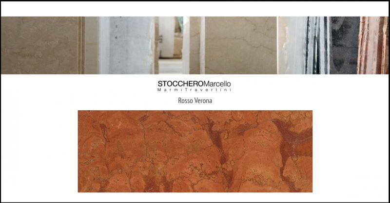 Stocchero Marcello Bargain sale of Red Verona marble sheets for floors and walls made in Italy