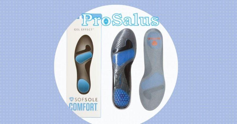 offerta Suola Soft Sole Gel Effect per piedi e calzature - PROSALUS